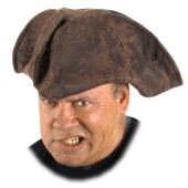 Pirate Tricorn - Brown