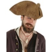 Jack Sparrow Pirate Hat - Brown