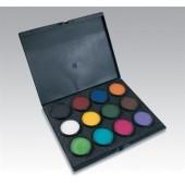 Paradise Makeup AQ 12-Color ProPalette - Mehron Makeup Kits, Paradise Makeup