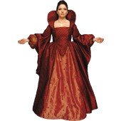 Queen Elizabeth Gown - Queen Elizabeth Costume, Queen Elizabeth I Dress, Queen Elizabeth I Costume