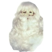 Santa Claus Yak Wig & Beard Set
