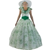 Scarlett O'Hara BBQ Dress - Southern Belle Dress, Gone With the Wind Dress, Scarlett O'Hara Dress