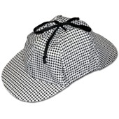 Sherlock Holmes Hat - Inspector Hat, Detective Hat