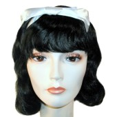 Snow White Wig - Princess Wig, Storybook Wig, Adult Snow White Wig