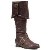 Captain Calico Jack's Boots - Brown