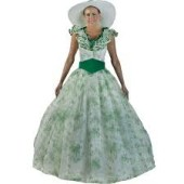 Plus Scarlett O'Hara BBQ Dress
