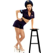 Air Force Gal Costume Pinup #4