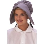 Puritan or Wagon Train Bonnet - Grey