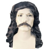 Wild Bill Hickok Wig Set