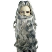 Wizard Wig, Merlin Wig, Father Time Wig