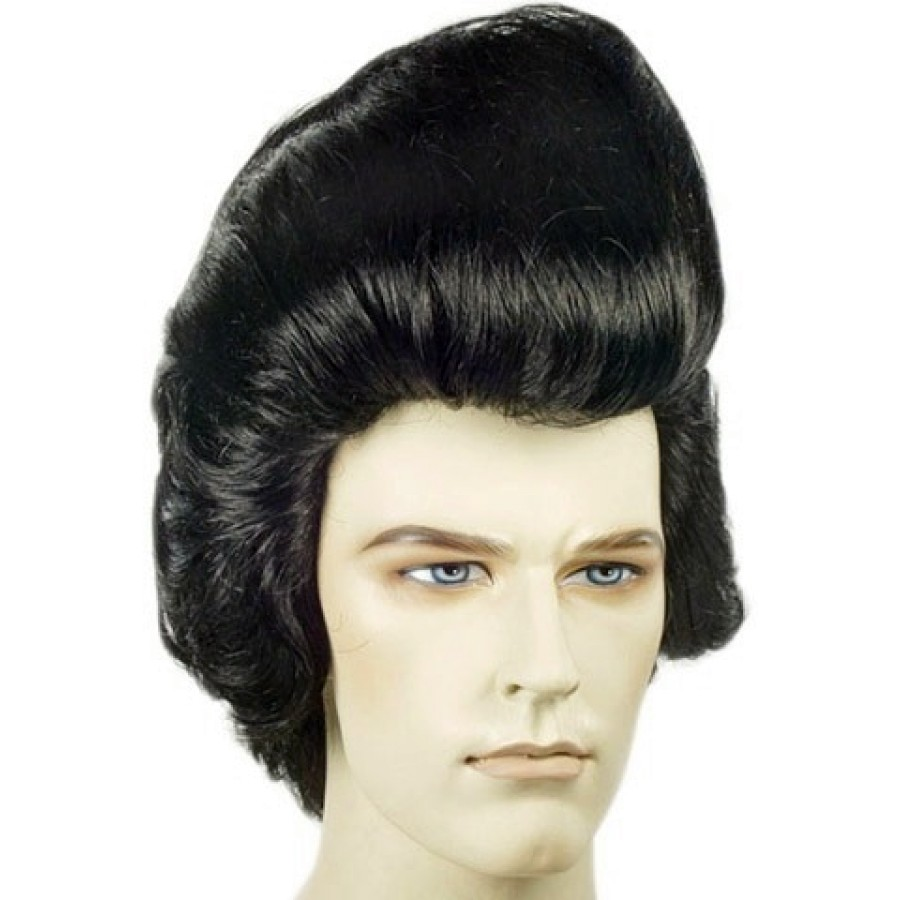 deluxe pompadour elvis wig | elvis wig, elvis hair, 1950s wig